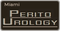 logo grafico studio Perito Urology, Miami